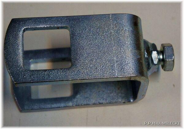 rolka kilowa obejma rolki 40x40mm 60x40mm 80x40mm boczna podwójna brenderup przyczepa