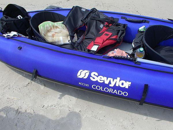 Kajak Sevylor KCC335 COLORADO spływ