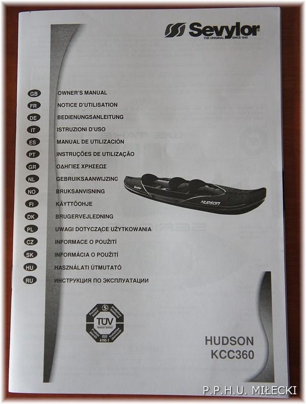 Kajak Sevylor HudsonKCC 360